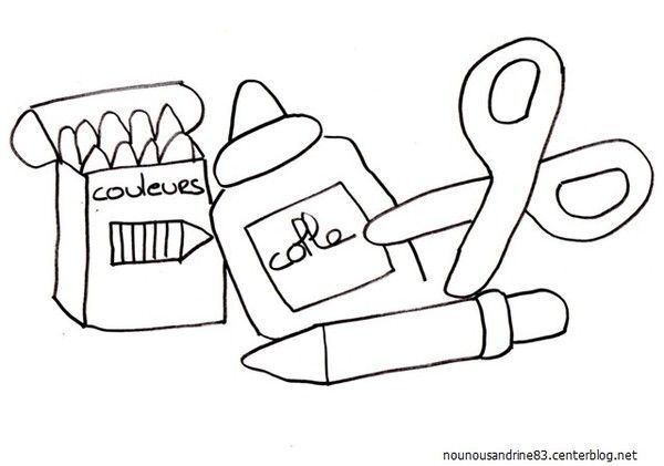 Rentree scolaire page 3 - Dessin cartable maternelle ...