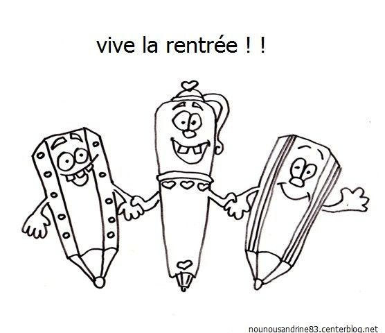 Rentree scolaire page 3 - Coloriage cartable maternelle ...