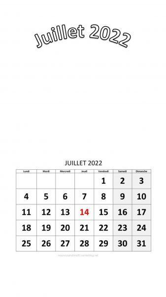 Calendrier 2022 à Personnaliser calendrier 2022 a personnaliser