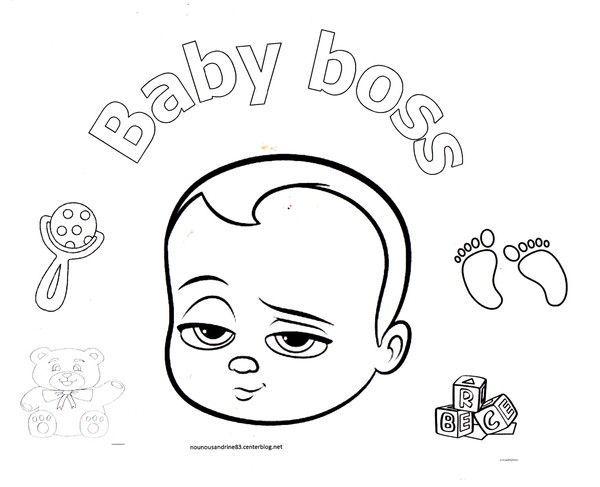 Dessin anime baby boss - Dessin anime a colorier ...