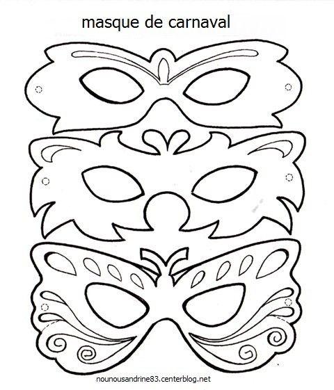 Favorit manuelle : masques de carnaval AC43