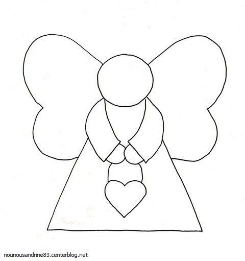 Noel a colorier page 2 - Patron ange de noel ...