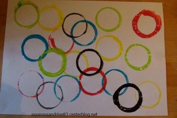 activite manuelle maternelle sur les couleurs