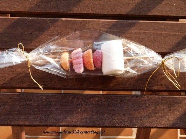 Activit manuelle saint valentin brochette de bonbons - Activite manuelle st valentin ...