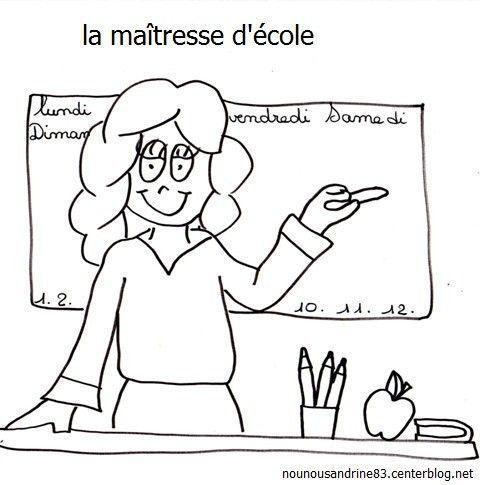 Top manuelle : rentrée scolaire : maîtresse d'école DX12