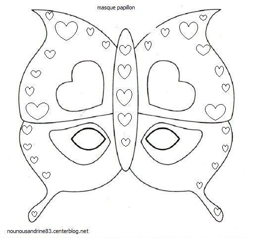 Activit manuelle masque papillon - Masque papillon carnaval ...