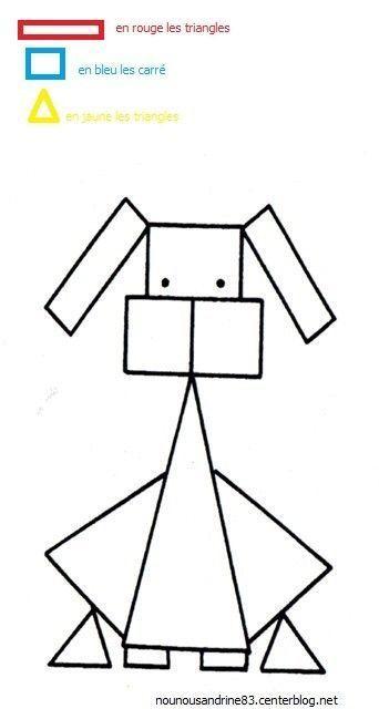 Carre for Dessin en forme geometrique