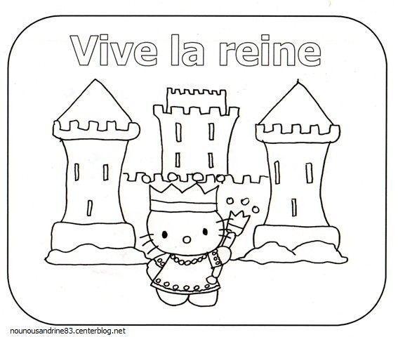 activité manuelle : vive la reine hello kitty