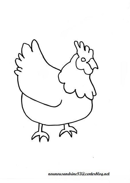 activité manuelle : pâques : poule