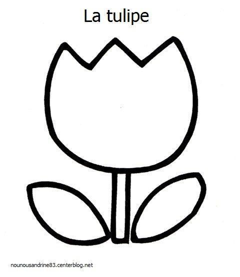 Activit manuelle la tulipe - Activite manuelle sur le printemps ...