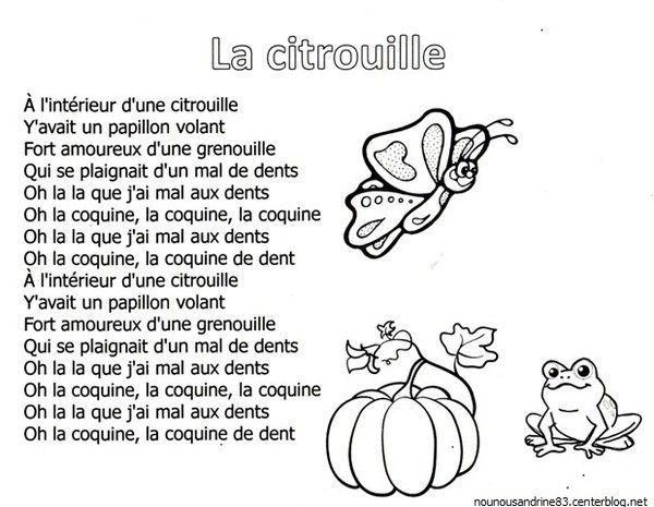 Halloween Comptines