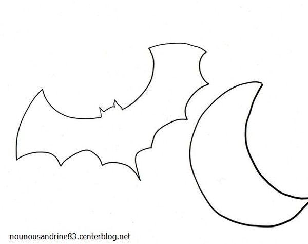 Activit manuelle halloween chauve souris - Deco halloween chauve souris ...