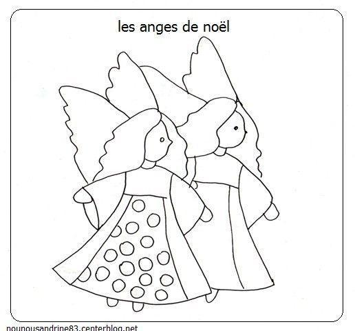 Activit manuelle les anges de noel - Anges de noel ...