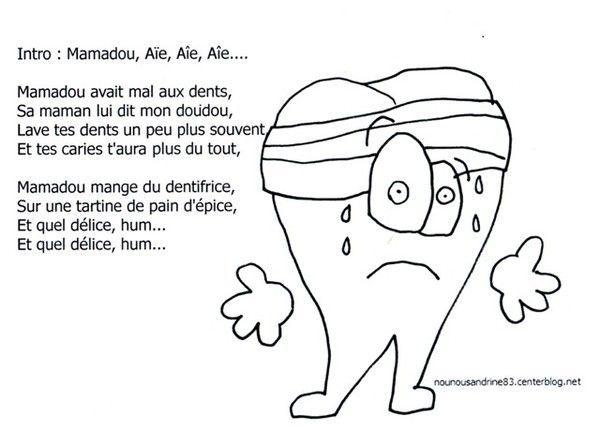 dent mamadou avait mal aux dents