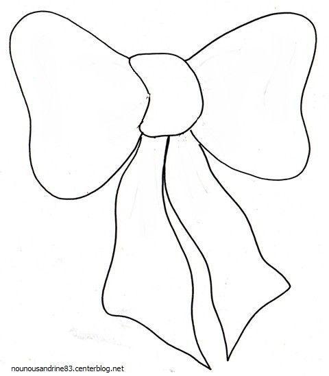 Activit manuelle le ruban de noel - Noeud coloriage ...