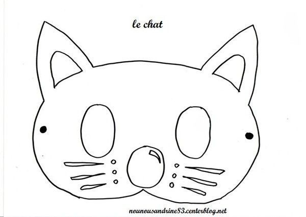 Animaux chat - Chat a colorier maternelle ...