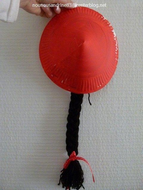 Berühmt manuelle : le chapeau chinois QL48
