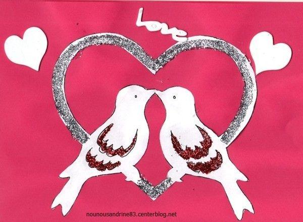 Activit manuelle saint valentin activit manuelle - Idee activite saint valentin ...