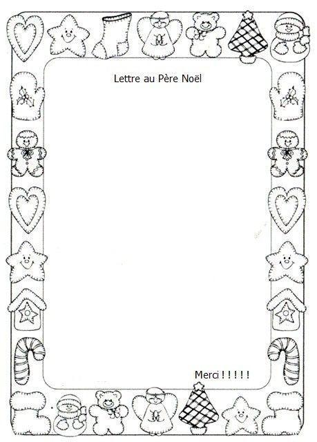 Activit manuelle lettre au p re no l - Activite manuelle maternelle noel ...