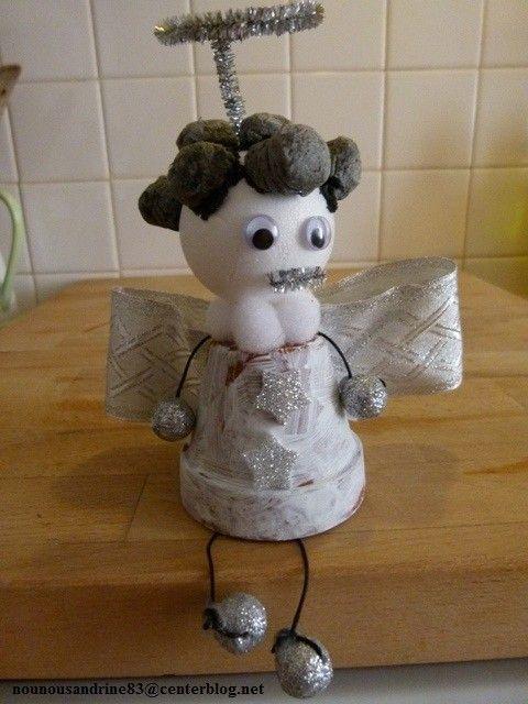 Activit manuelle petit ange - Activite manuelle fleur ...