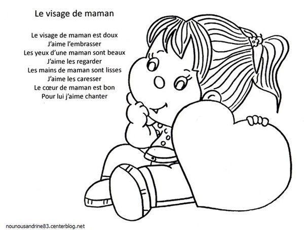 Gut gemocht manuelle : comptine : fête des mamans GG29