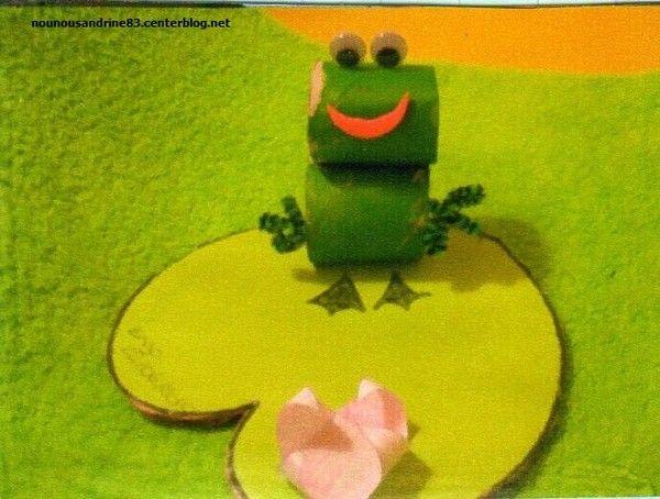 activité manuelle : la grenouille