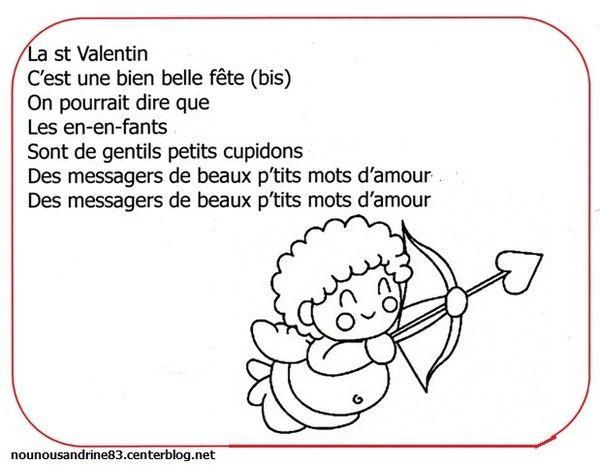 Saint valentin comptines - Parole saint valentin ...
