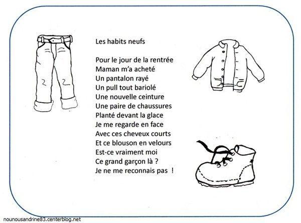Berühmt rentrée scolaire : les habits neufs PN02