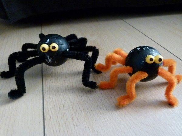 Activit manuelle halloween araign e centerblog - Activite manuelle originale ...