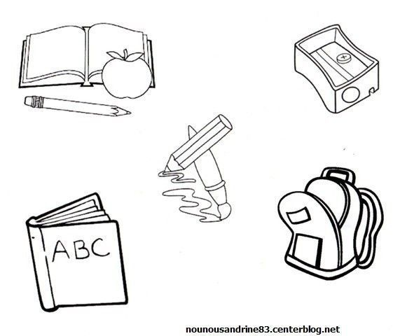 Rentree scolaire page 5 - Dessin cartable maternelle ...