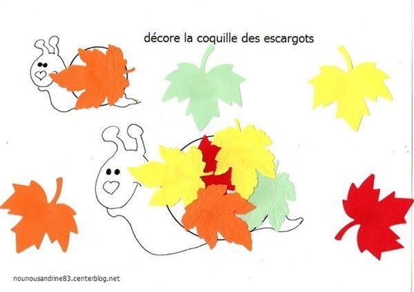 Activit manuelle saison automne centerblog - Activite automne maternelle ...