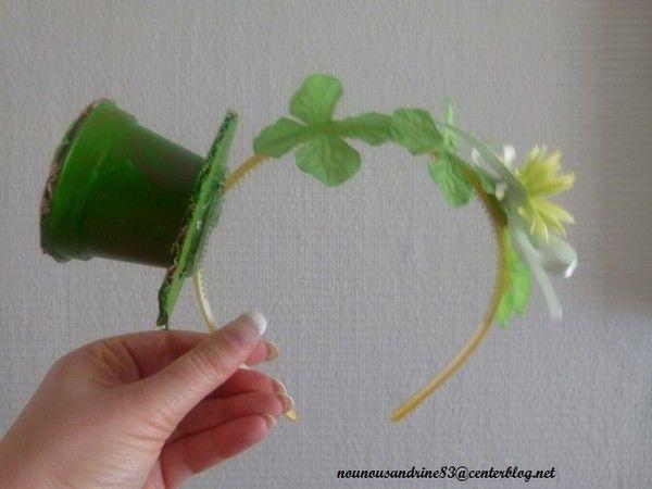 Activit manuelle saint patrick chapeau centerblog - Activite manuelle fleur ...