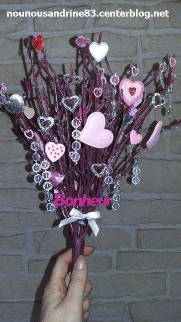 activit manuelle saint valentin arbre d 39 amour. Black Bedroom Furniture Sets. Home Design Ideas
