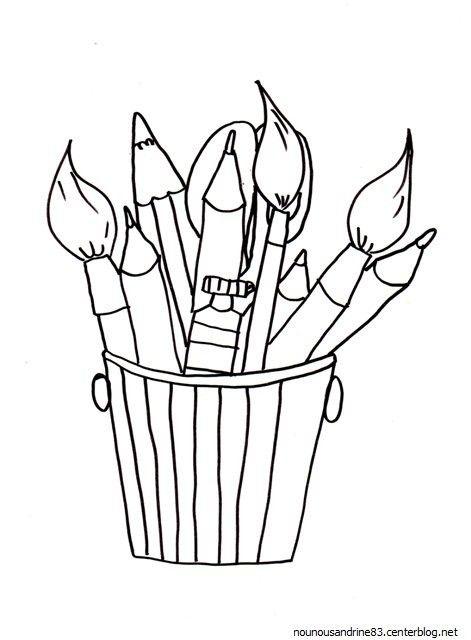 coloriage de taille crayon pour colorier