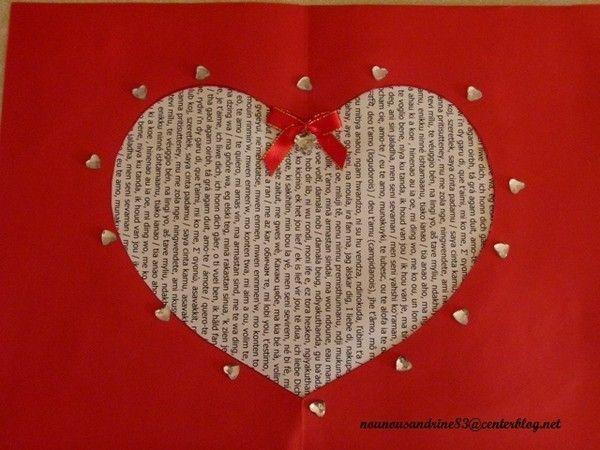 Activit manuelle saint valentin collage d coupage - Idee activite saint valentin ...