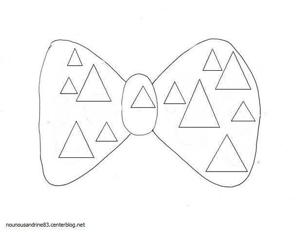 activit manuelle cirque noeud papillon le triangle