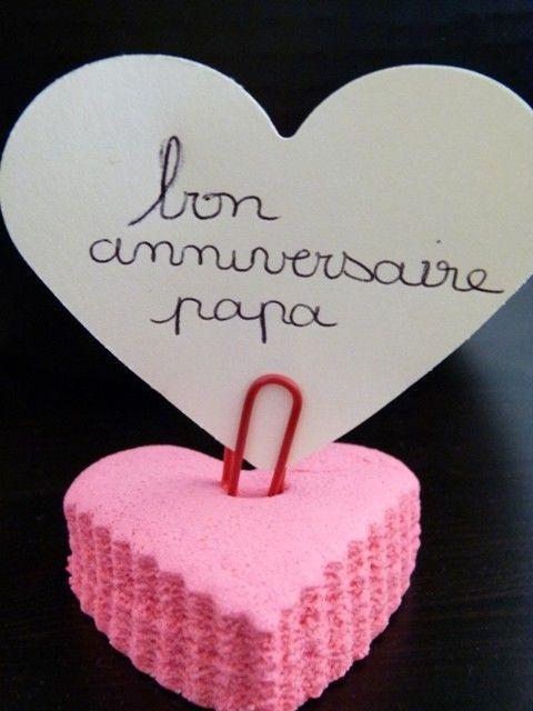 Gut gemocht manuelle : anniversaire papa UA02