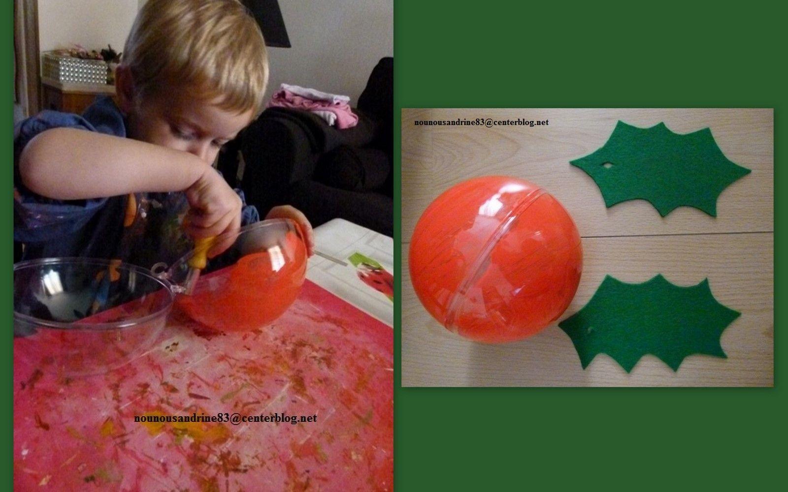 #A43427 Activité Manuelle : Le Houx De Noël 5591 idée de décoration de noel manuelle 1600x1000 px @ aertt.com