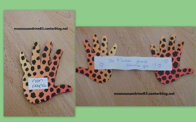 Assistante maternelle nounousandrine 83 page 94 - Activite fete des peres ...