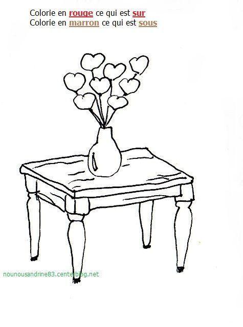 Activit manuelle sur sous coloriage - Table de dessin ikea ...