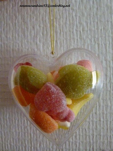 Activit manuelle saint valentin coeur de bonbons - Activite manuelle st valentin ...