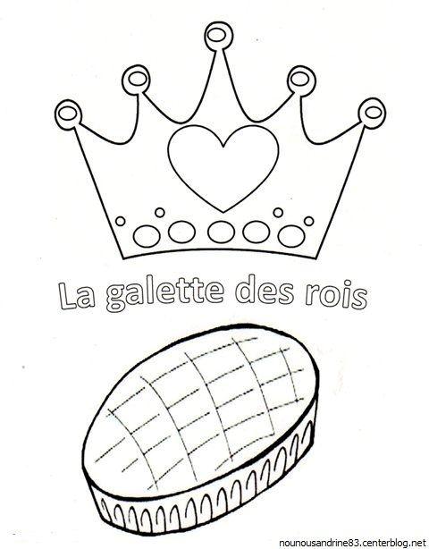 Assistante maternelle nounousandrine 83 - Couronne des rois a colorier ...