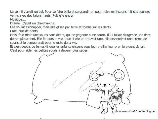 Dents livre la petite souris - L histoire de la souris ...