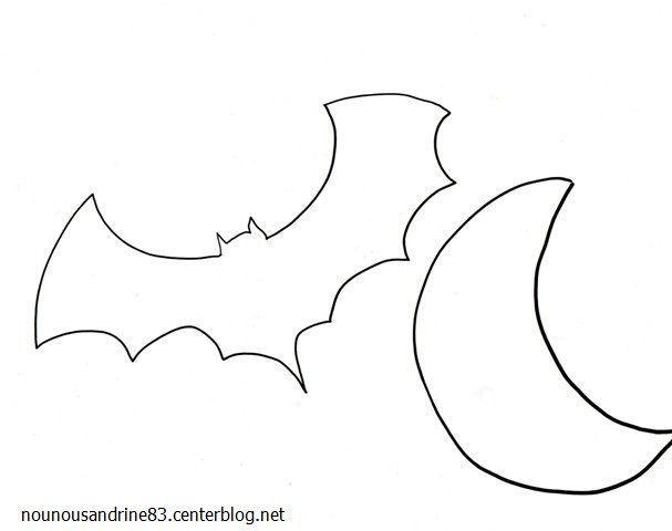 activit manuelle halloween chauve souris. Black Bedroom Furniture Sets. Home Design Ideas