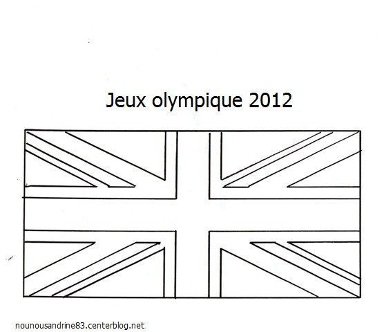 Jeux olympiques page 3 - Drapeau angleterre coloriage ...