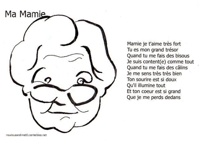 Poème Pour La Fête Des Mamies