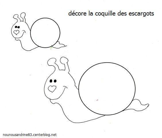 Animaux escargot - Escargot maternelle ...