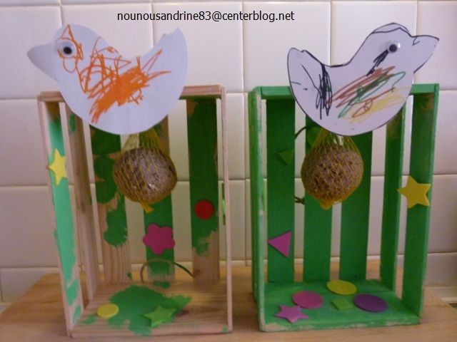 Activit manuelle mangeoire pour oiseaux - Activite manuelle maternelle hiver ...